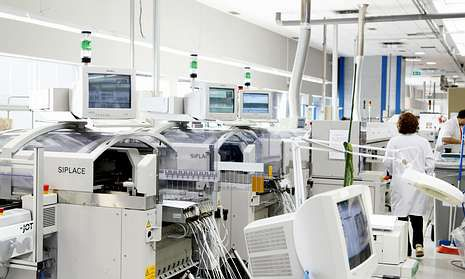 Arteixo Telecom está especializada en la fabricación de componentes tecnológicos.
