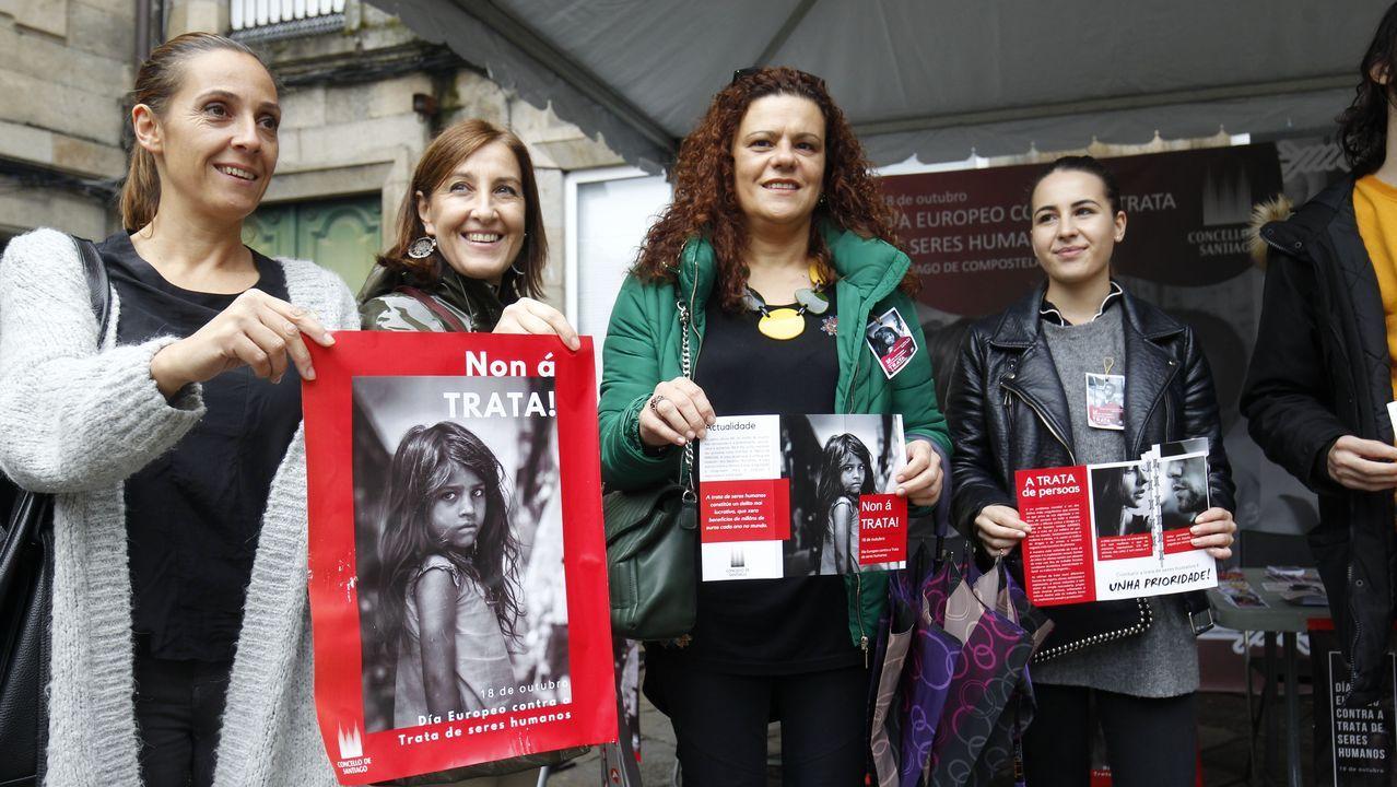 El 25N en Santiago: no rotundo contra la violencia machista.Pérez MIramontes, en una foto de archivo