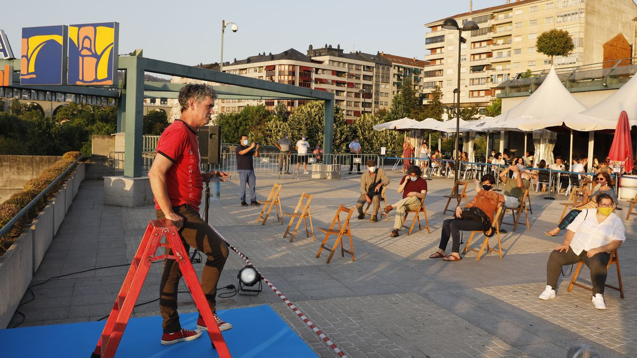 Rali de Ourense 2020.La prueba abrió la temporada nacional de Asfalto