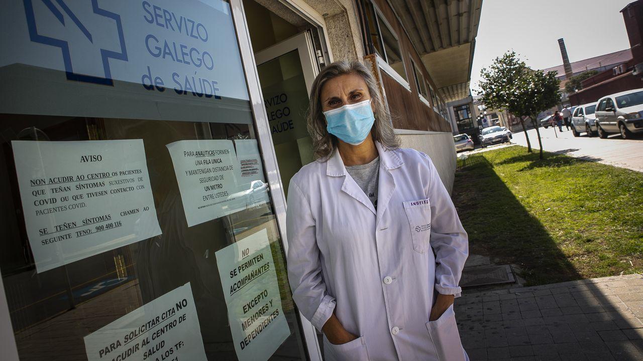 arturo.Ángeles Mera cree que la gente está más concienciada y que este año habrá un alto porcentaje de vacunados en Ribeira