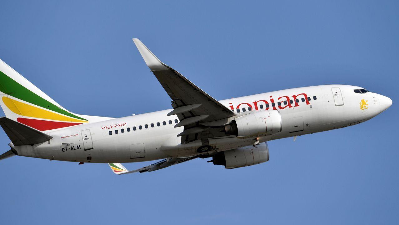 Un avión del mismo modelo que el siniestro, un Boeing 737-700, fotografiado el pasado mes de noviembre