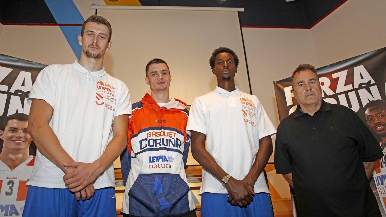 La selección española de baloncesto ya está en España.Sergio Egea durante un entrenamiento