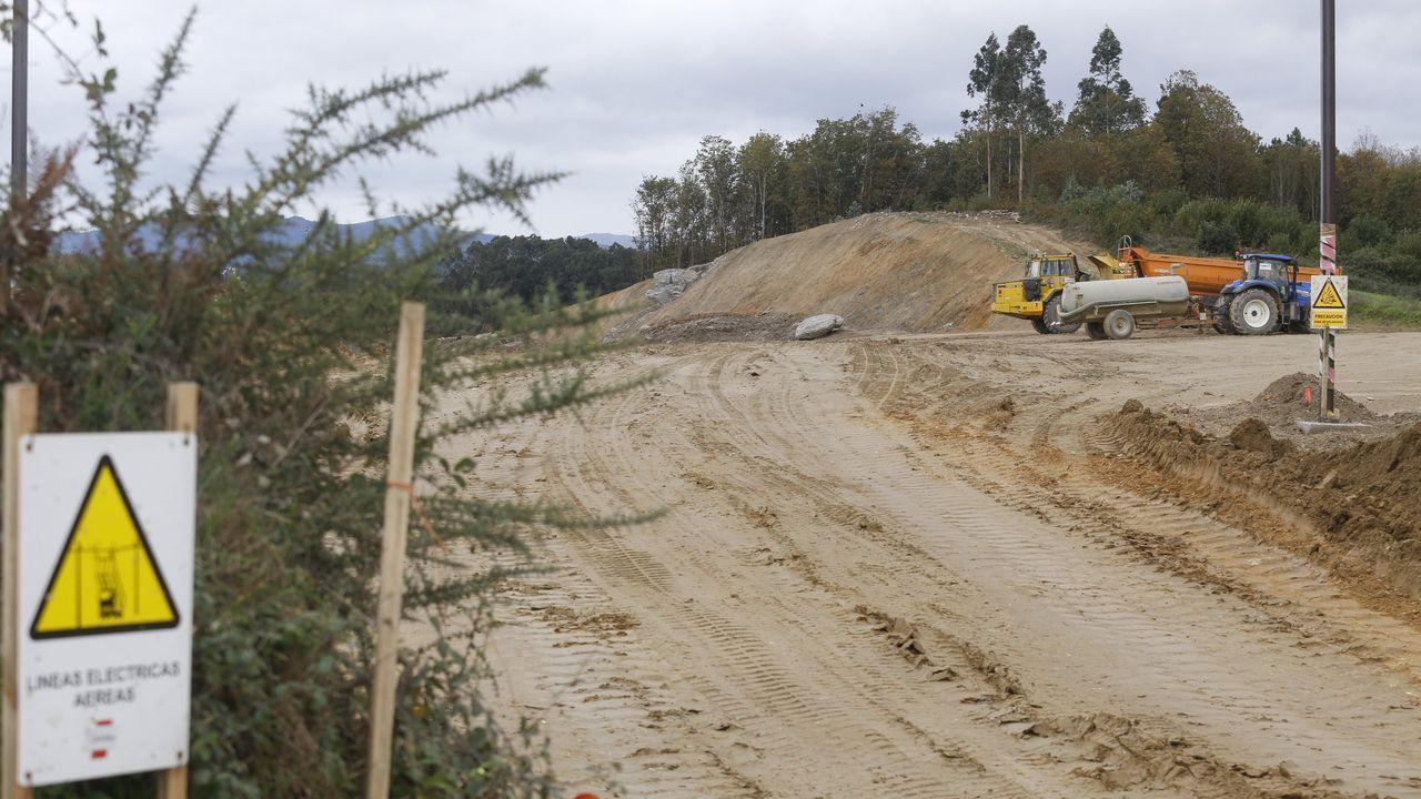 La obra del tramo entre Melide y Arzúa está muy retrasada
