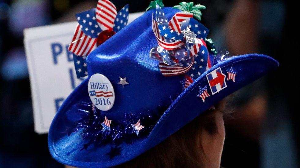 Convención demócrata enFiladelfia.Donald Trump