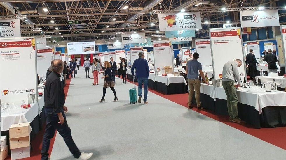 La Gala do Deporte Universitario reconoce a numerosos deportistas ourensanos.El salón organizado por la Guía Peñín reúne a 320 bodegas de toda España