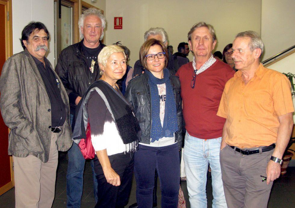 Los fondos artísticos del Torrente Ballester de Ferrol.Vizoso estuvo arropado por Costa, Crespo y Veiras Manteiga.
