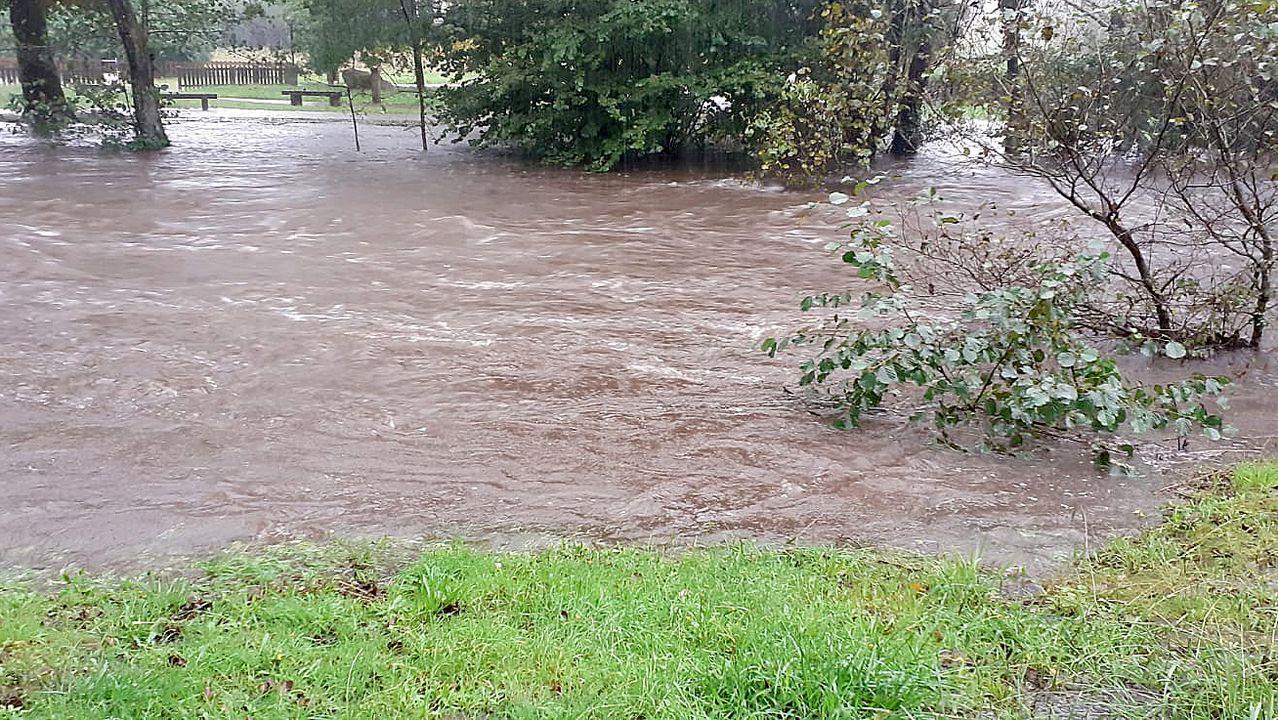 Inundaciones en Vimianzo y Carballo