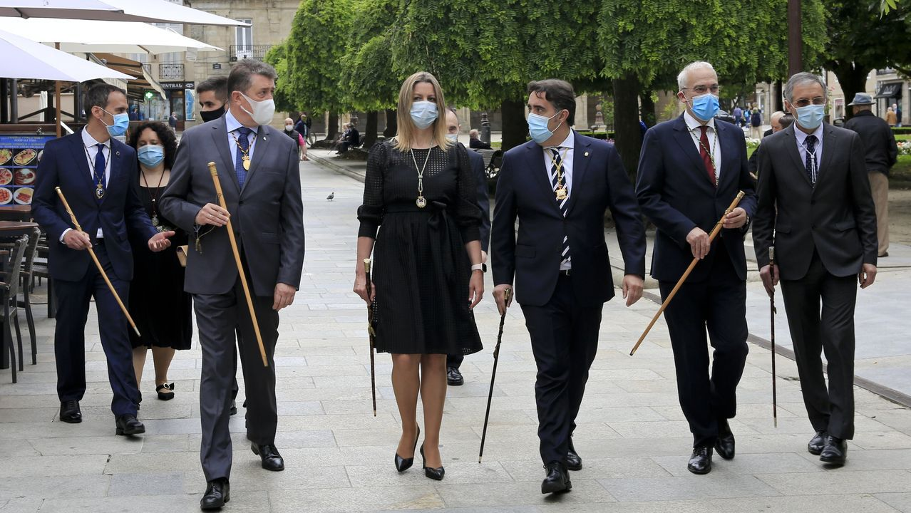 La ofrenda del Antiguo Reino, marcada por la pandemia.Poner en marcha el nuevo auditorio exigirá una inversión de unos 300.000 euros