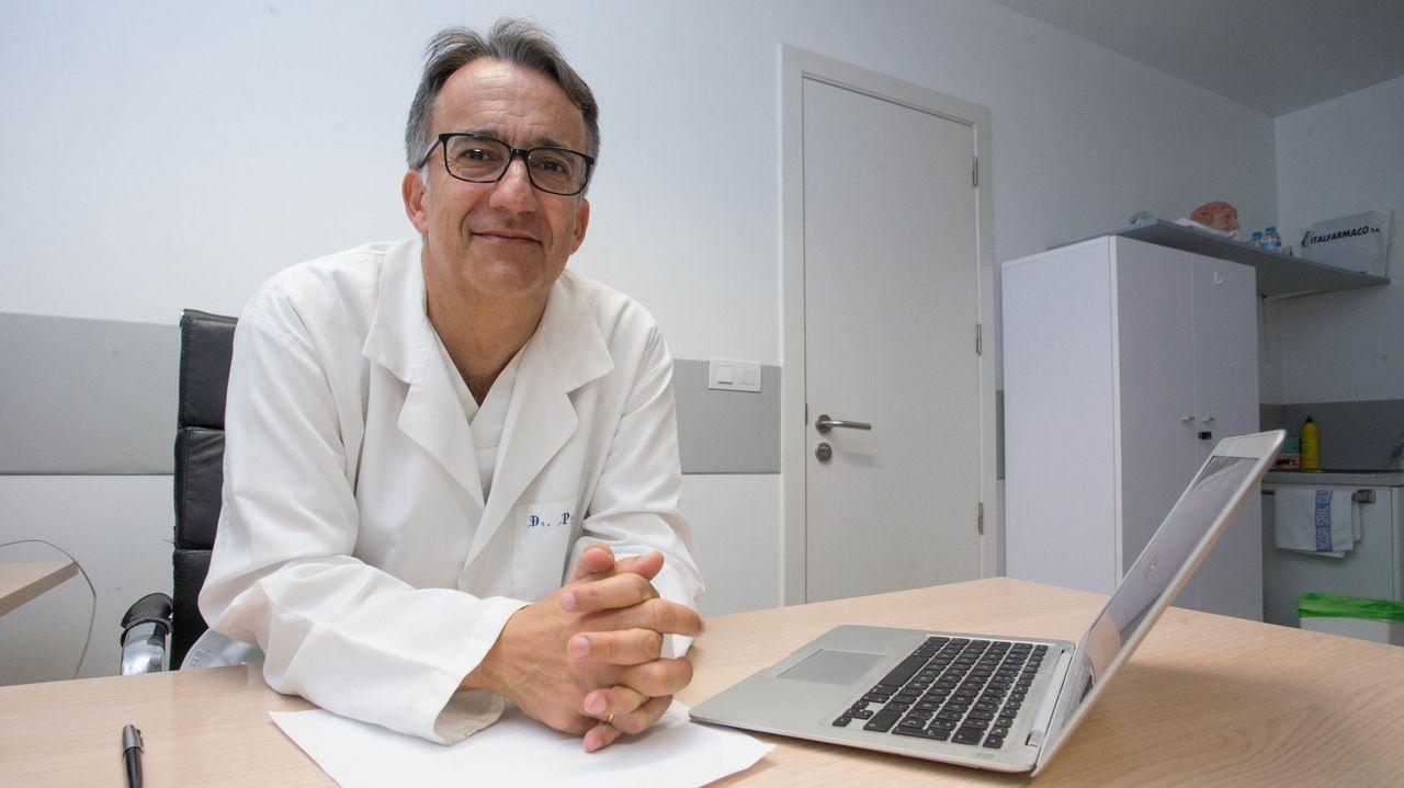 El jefe de Neurología del HULA, Robustiano Pego