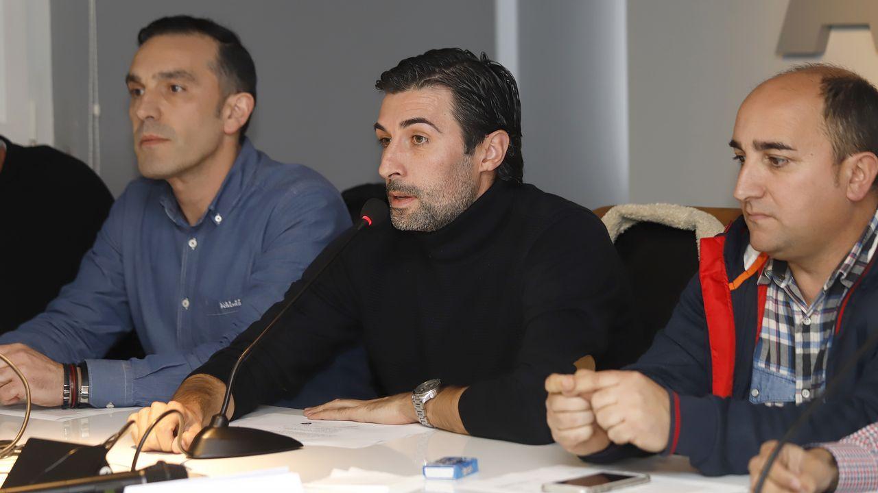 La promo de los Goya 2019: «Ríete en paz» con Silvia Abril y Andreu Buenafuente.Wenceslao López, alcalde de Oviedo