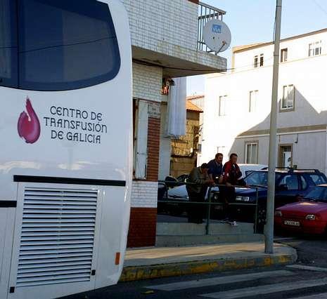 Angrois.La unidad móvil estará mañana y el sábado en Vilagarcía.