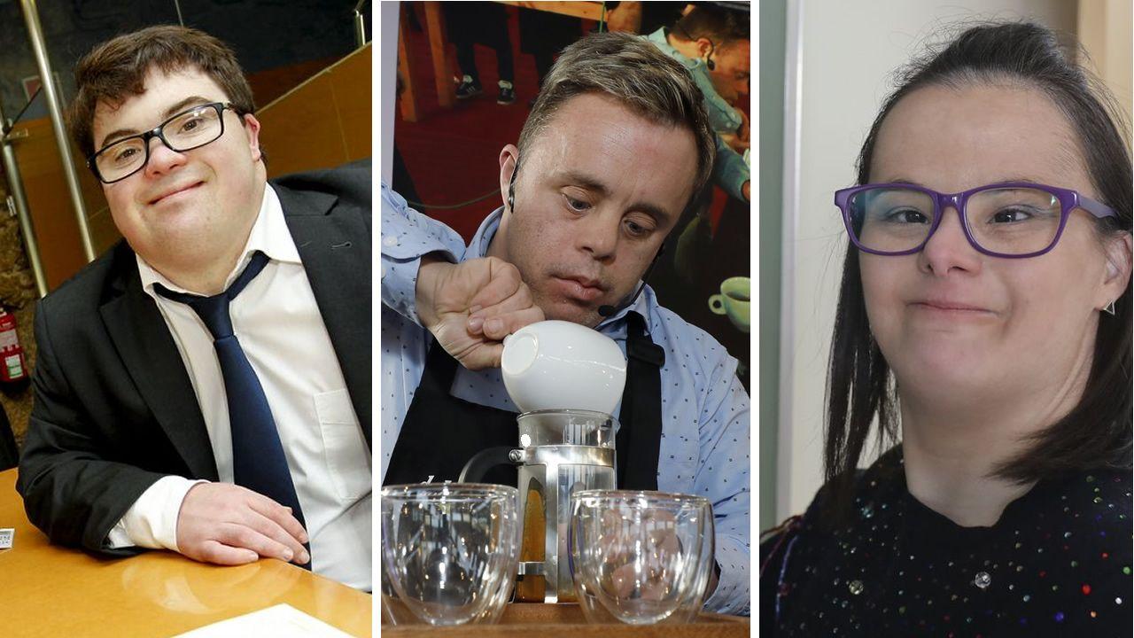 Los mejores baristas de España se citan en Vigo.David Suárez
