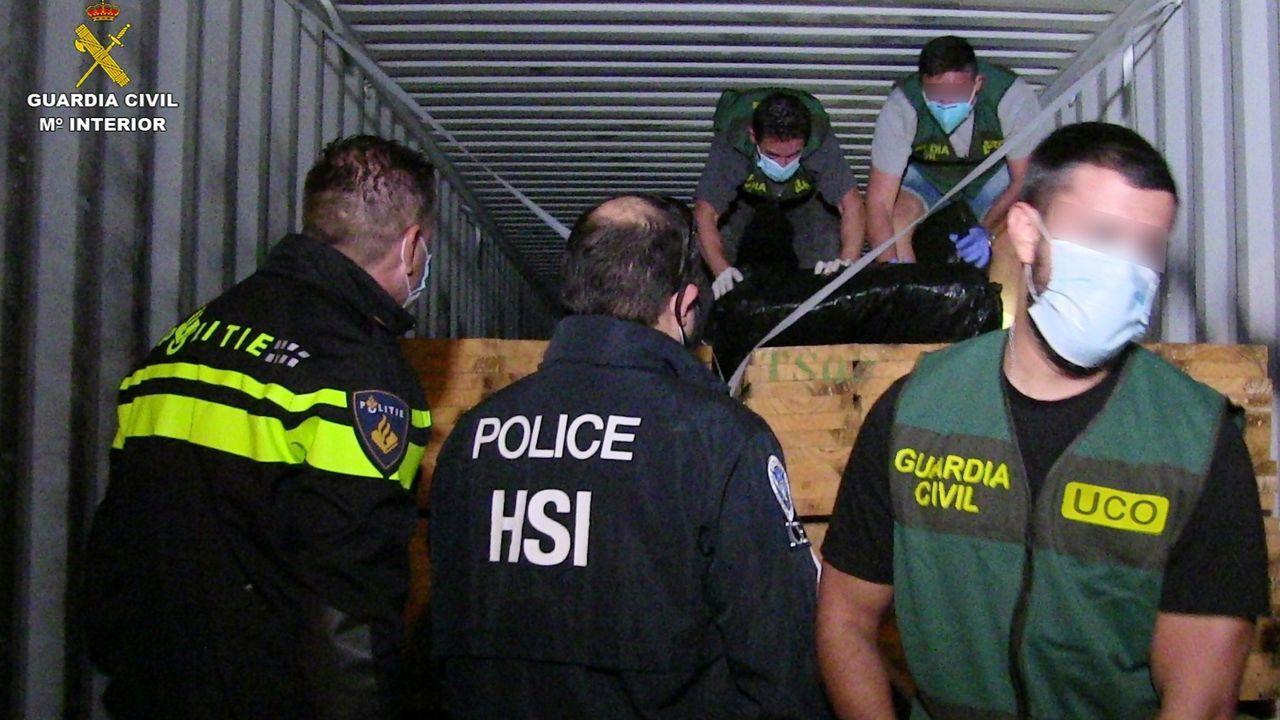 Desarticulada la organización de tráfico de droga más activa de Europa.Orbaiz Quintáns y Cuesta Pérez