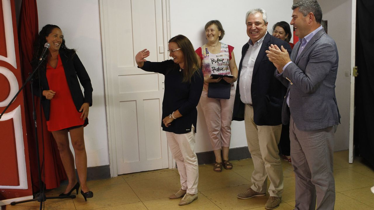 Alumnos de toda Europa aprenden galego na Universidade da Coruña.