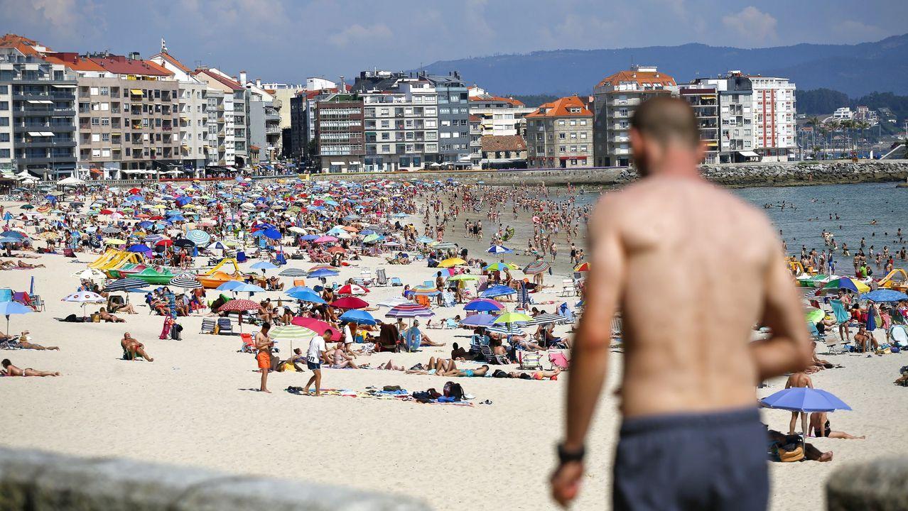 Playa de Silgar (Sanxenxo)
