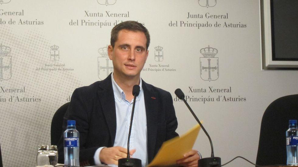 El diputado del PP, David González Medina..David Medina