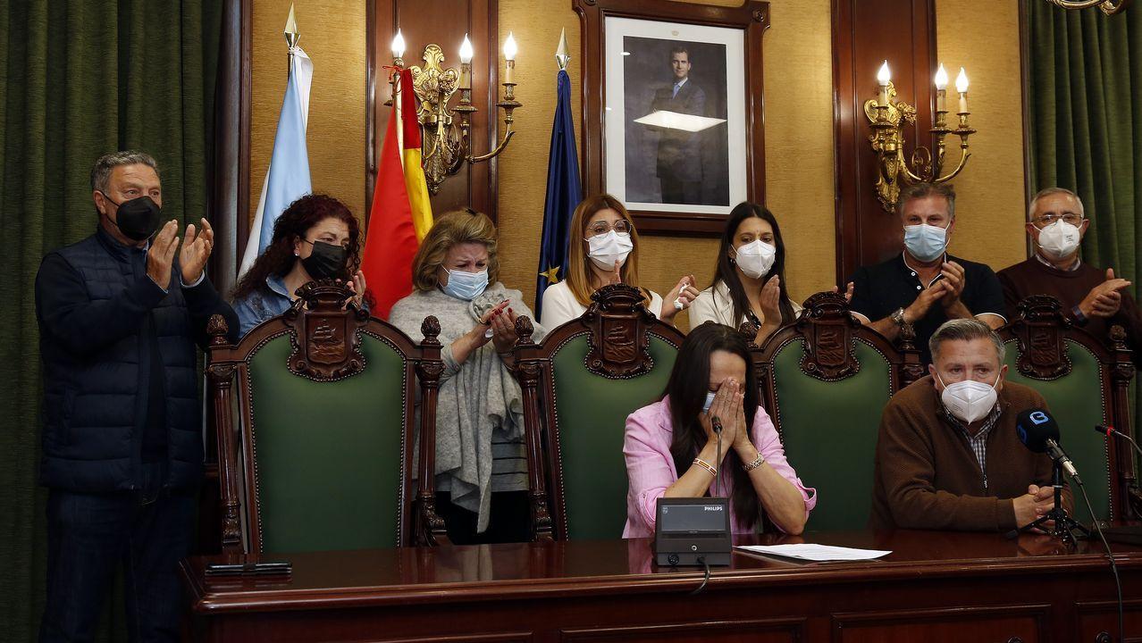 La edila del PP de Ribeira, Ana Ruiz, anuncia su dimisión