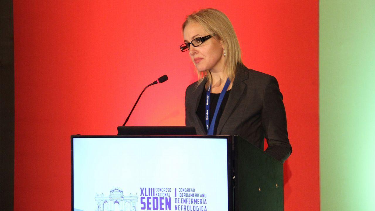 O Salnés «normaliza» los partos.La directora de la Organización Nacional de Trasplantes (ONT), Beatriz Domínguez Gil