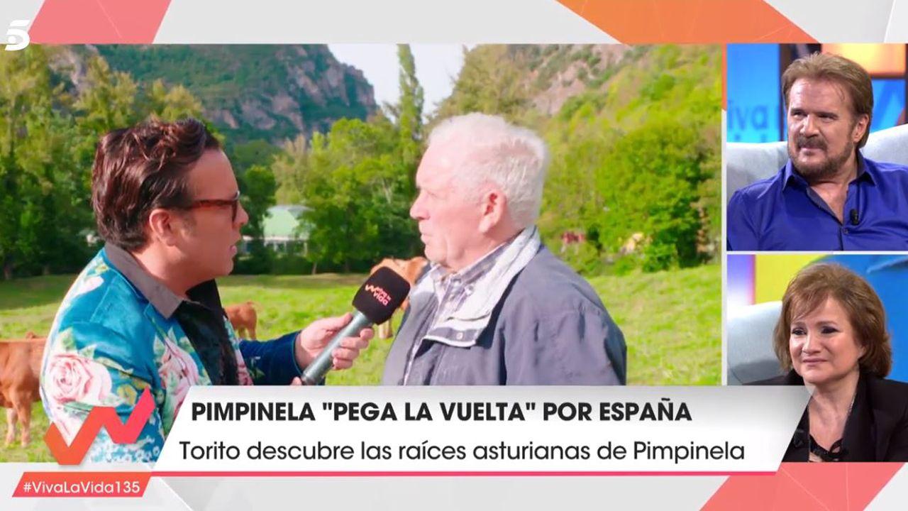 Centenaria de A Lama, Grou (Lobios), Segunda Portela Rodríguez.Torito en el pueblo de Pimpinela en el programa Viva la vida