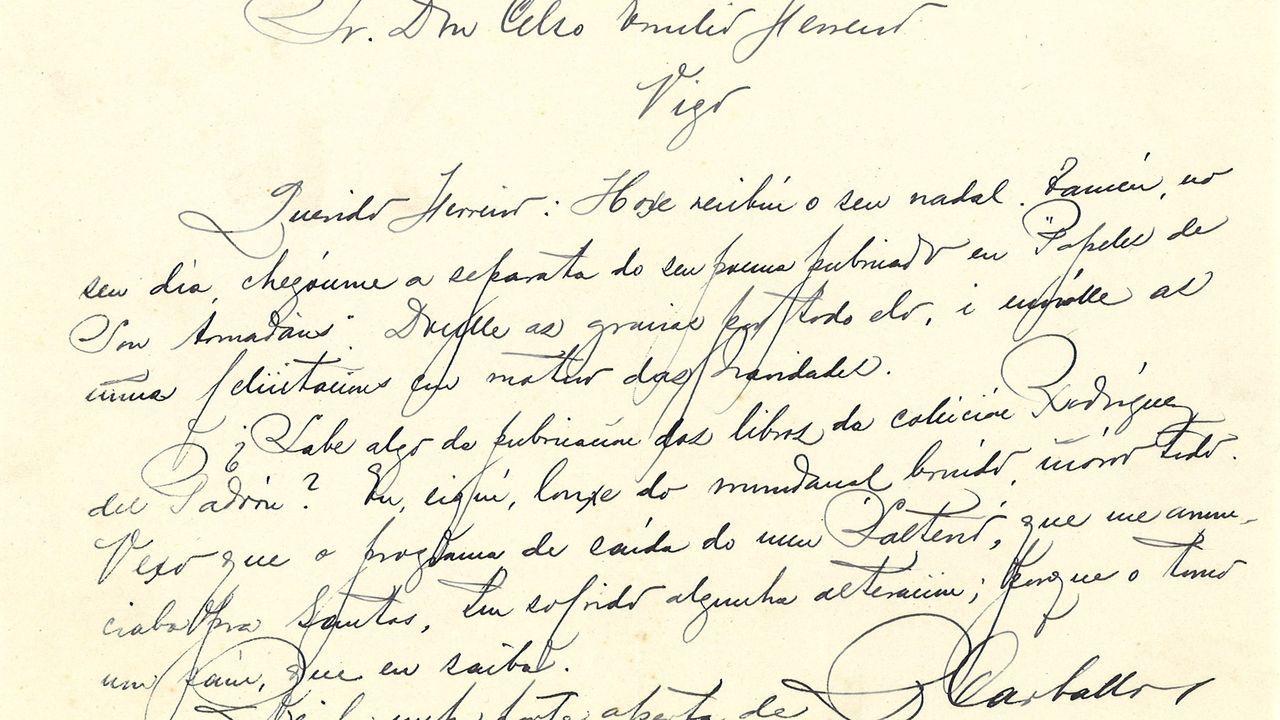 Carta de Carvalho Calero a Celso Emilio Ferreiro