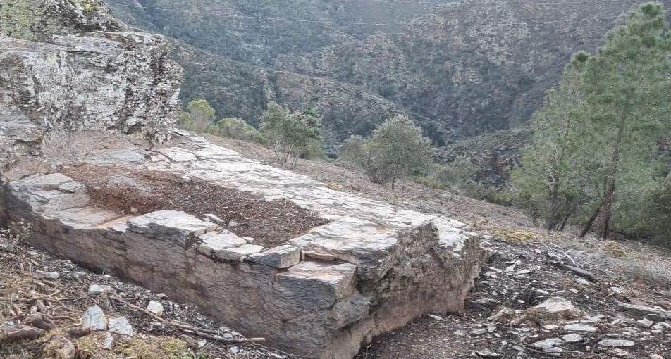 O Castrillón, en Larouco