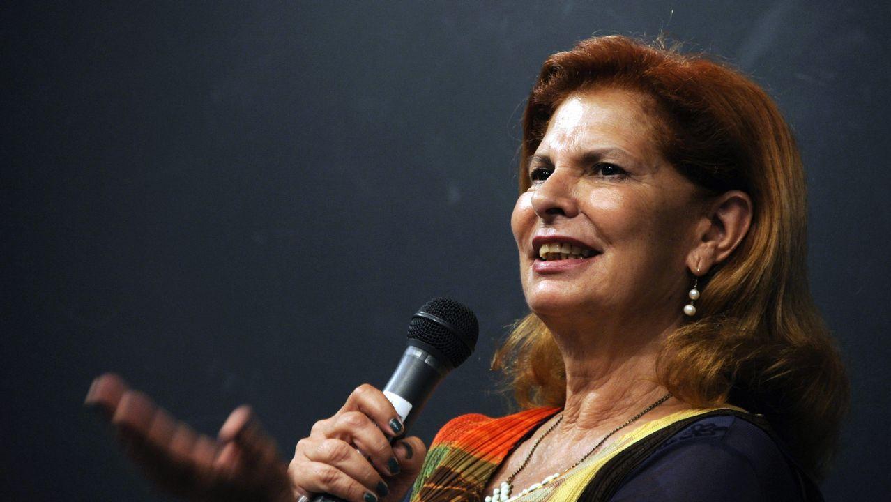 Albert Rivera: «Vamos a ser decisivos para que muchas alcaldías no tengan alcaldes populistas».Manifestación contra el cierre de Alcoa