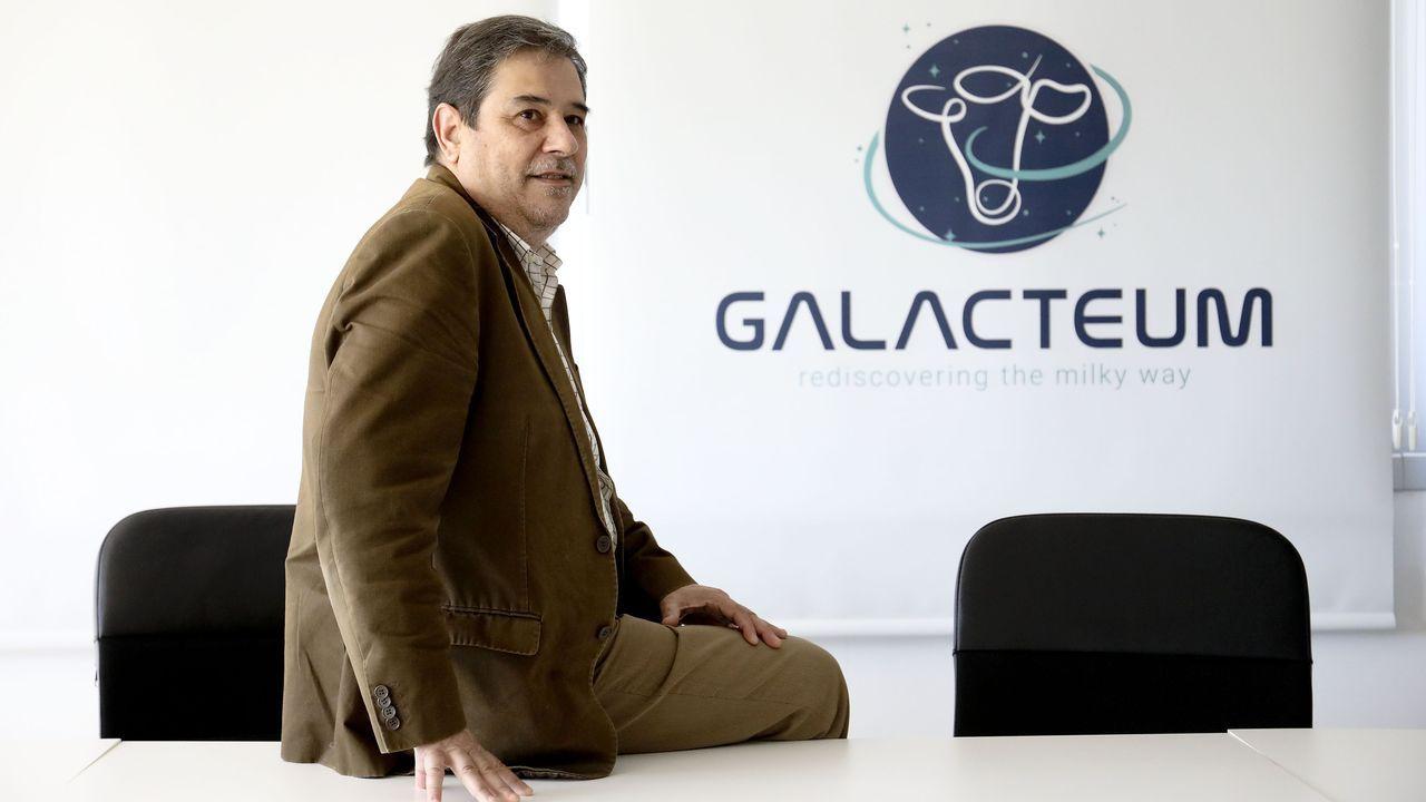 Roberto López, Brais Pérez y Antón Polo (de izquierda a derecha) creen que su propuesta combina tradición e innovación
