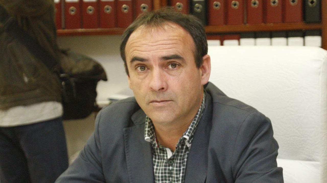 Búsqueda de la mujer desaparecida en Amoeiro.Manuel Rodriguez, el alcalde socialista de Coles
