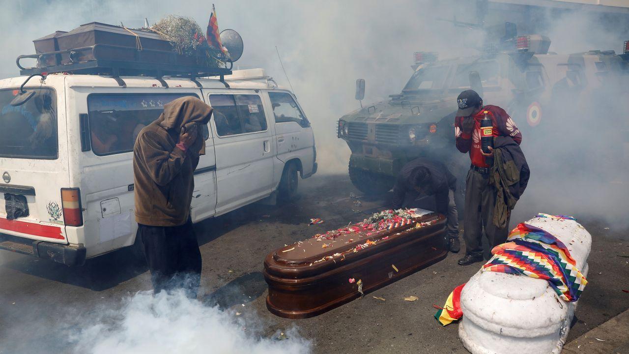 Disturbios callejeros en Santiago de Chile
