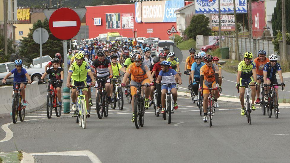 El Día da Bicicleta da Cee, en imágenes