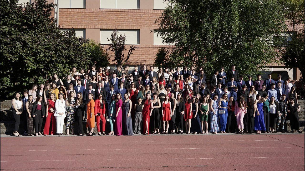 Los alumnos del IES Castro Alobre de Vilagarcía celebraron este año un San Valentín sin estereotipos machistas