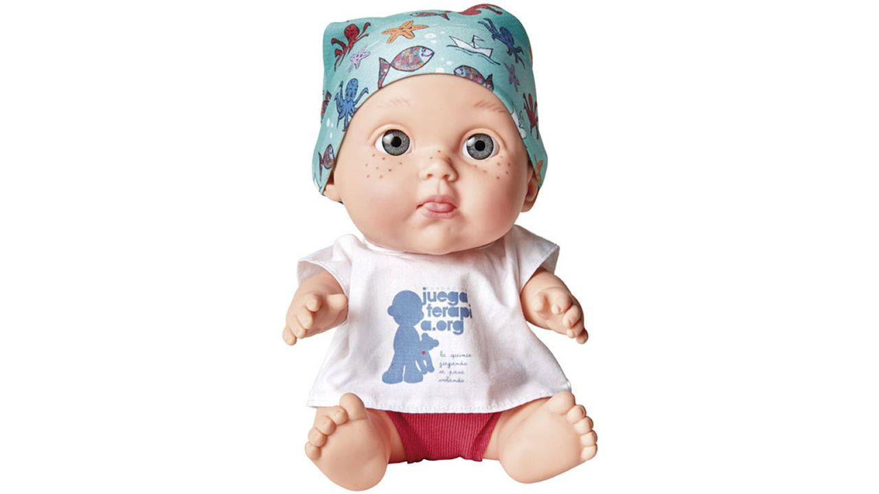 3. Baby pelones. Muñecos solidarios a favor de la lucha contra el cáncer. El último modelo, diseñado por David Bisbal, ya se ha agotado en algunas tiendas