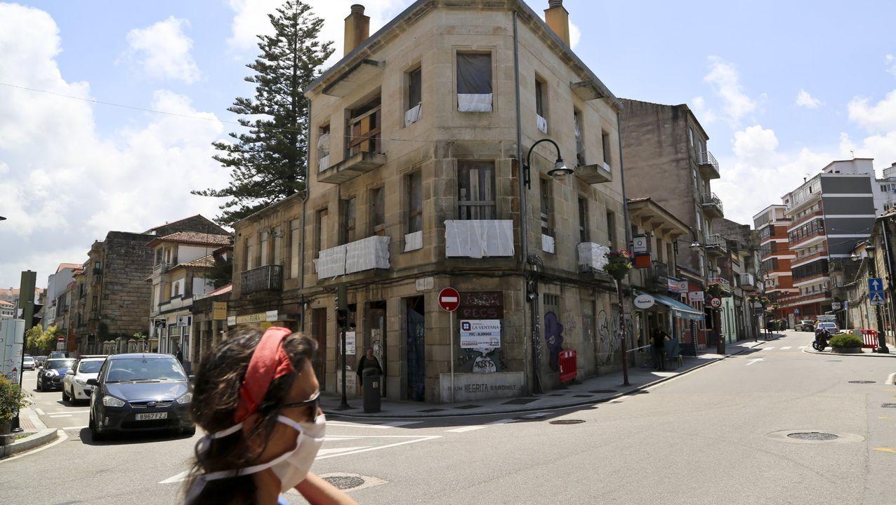 Imagen de archivo del barrio de Bouzas