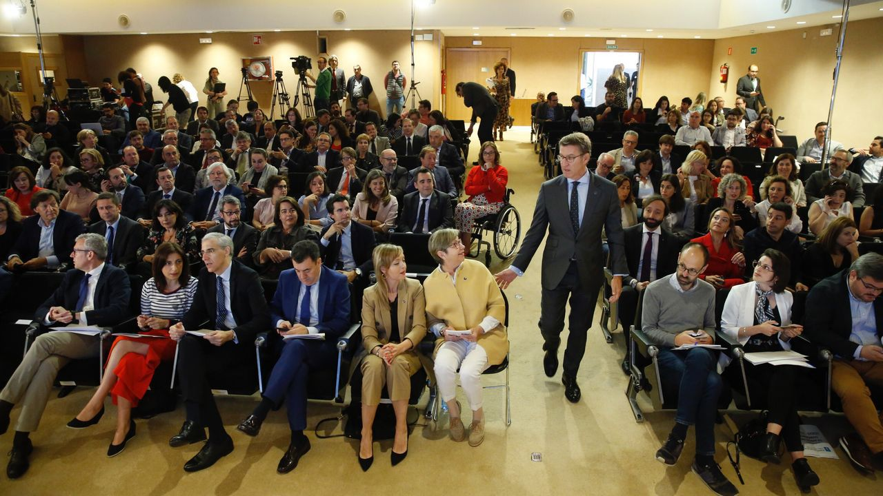 Villares y sus diputados se van al grupo mixto.Laureano Bermejo, líder de Ciudadanos en Galicia