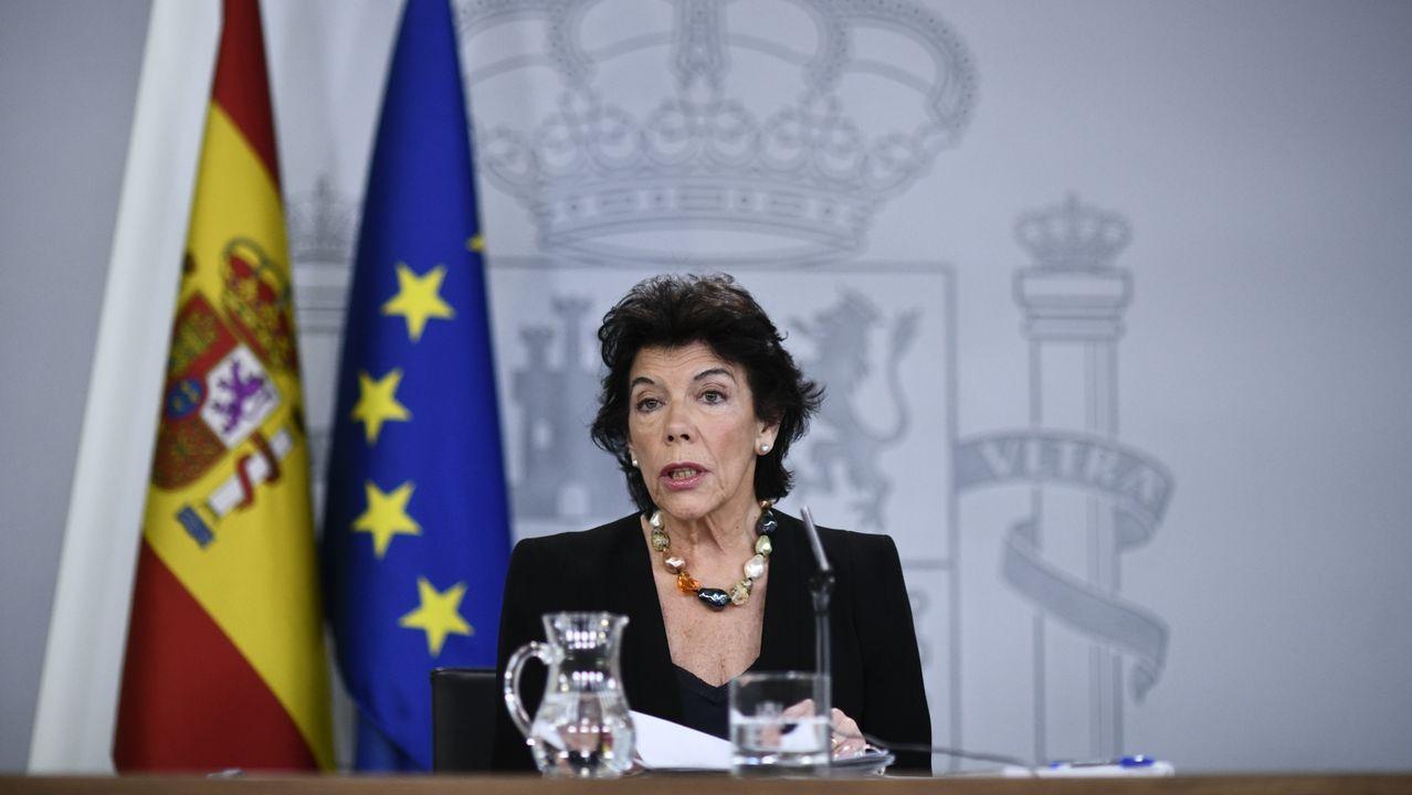 El Ejecutivo reconoce a Unidas Podemos como «acompañante preferente» aunque hablará «con todas las fuerzas del hemiciclo».Uno de los momentos del juicio por el «próces» secesionista