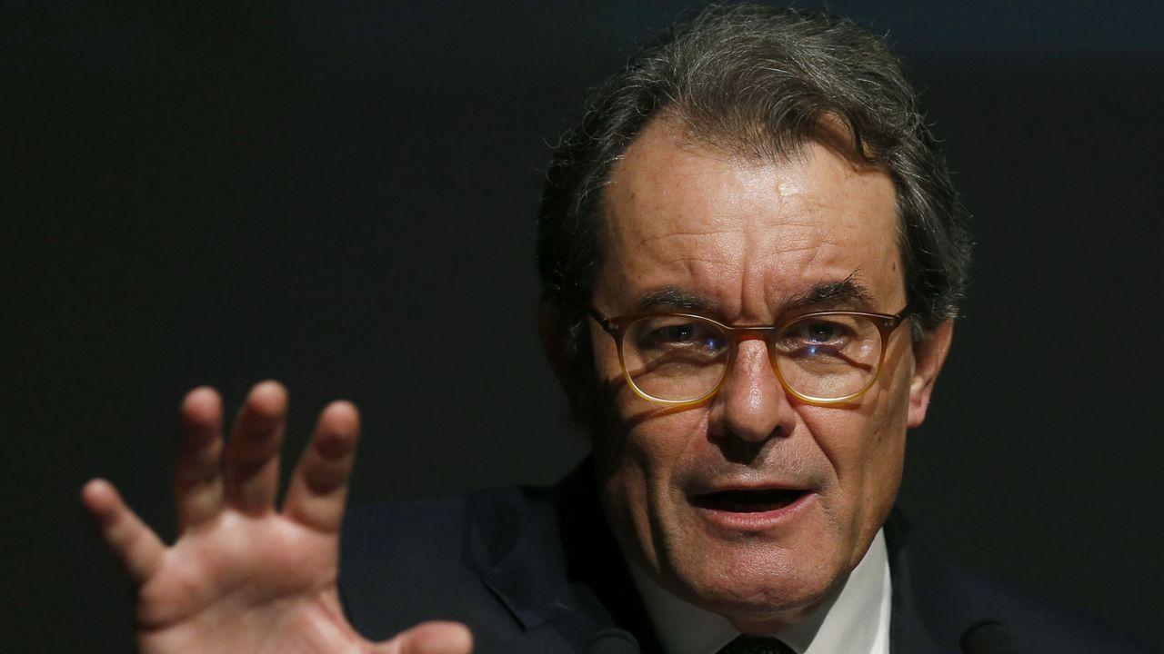 Artur Mas. El expresidente catalán, condenado por el 9N, dirige el equipo del PDeCAT