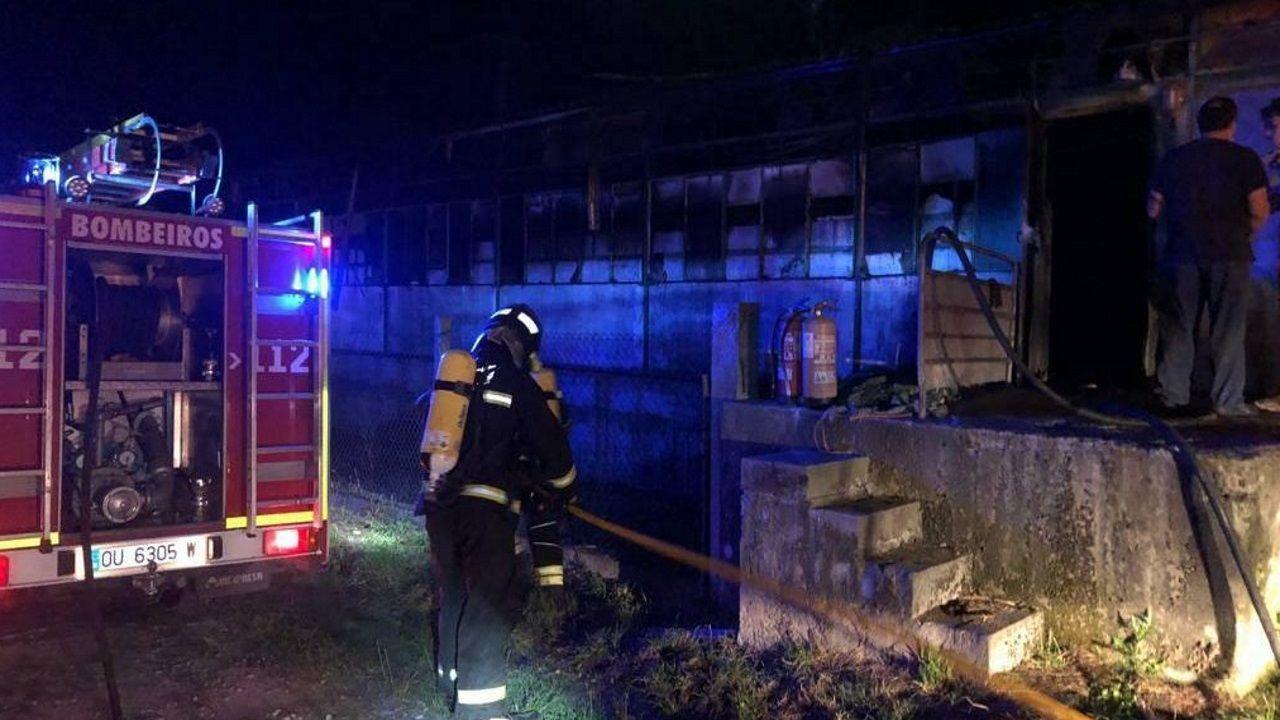 Incendio en Vilariño de Conso.Ribadavia y Maceda ponen en marcha el servicio de conciliación para las familias