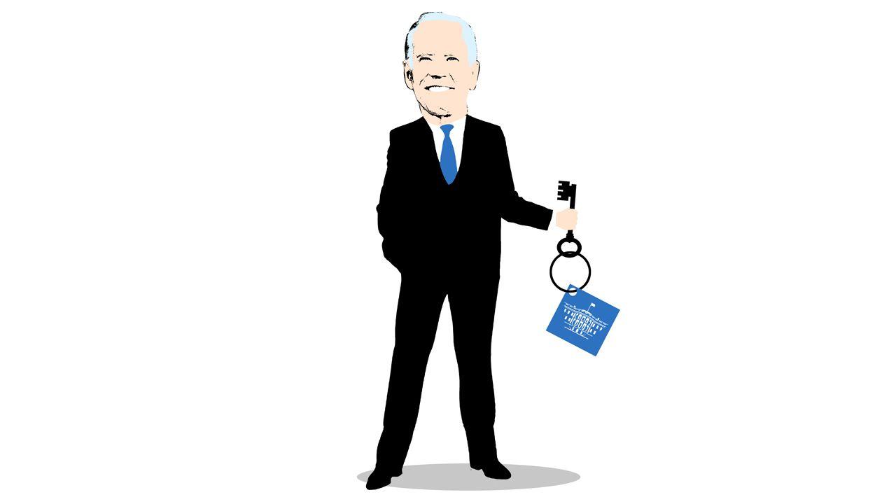 Joe Biden.Caricatura de Joe Biden