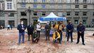 Recogida de firmas del PP de Oviedo dentro de la campaña nacional del partido para reclamar regulación contra la 'okupación' ilegal