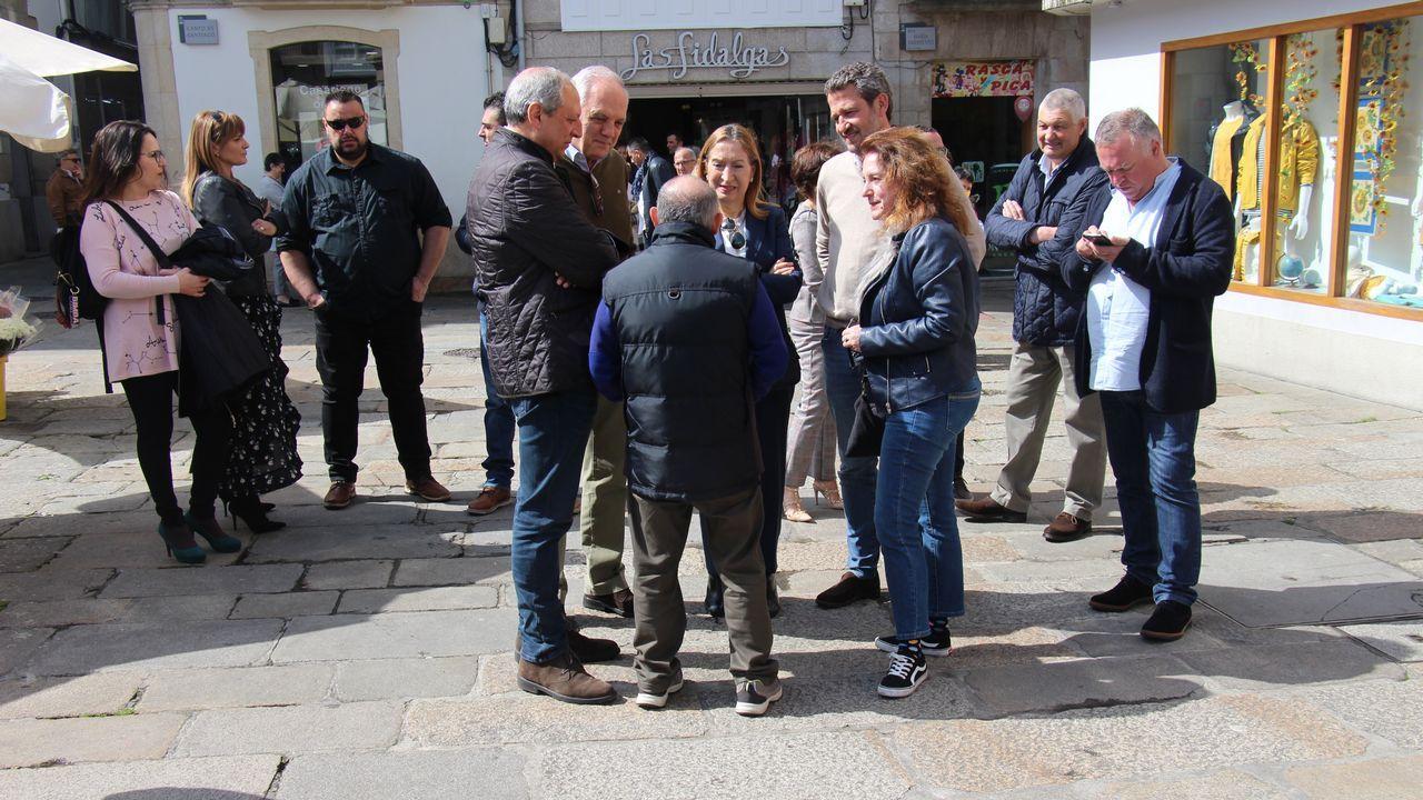 Pastor, en la votación de las generales el pasado domingo 28 de abril, en Pontevedra