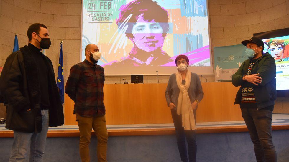 Presentación das actividades polo Día de Rosalía