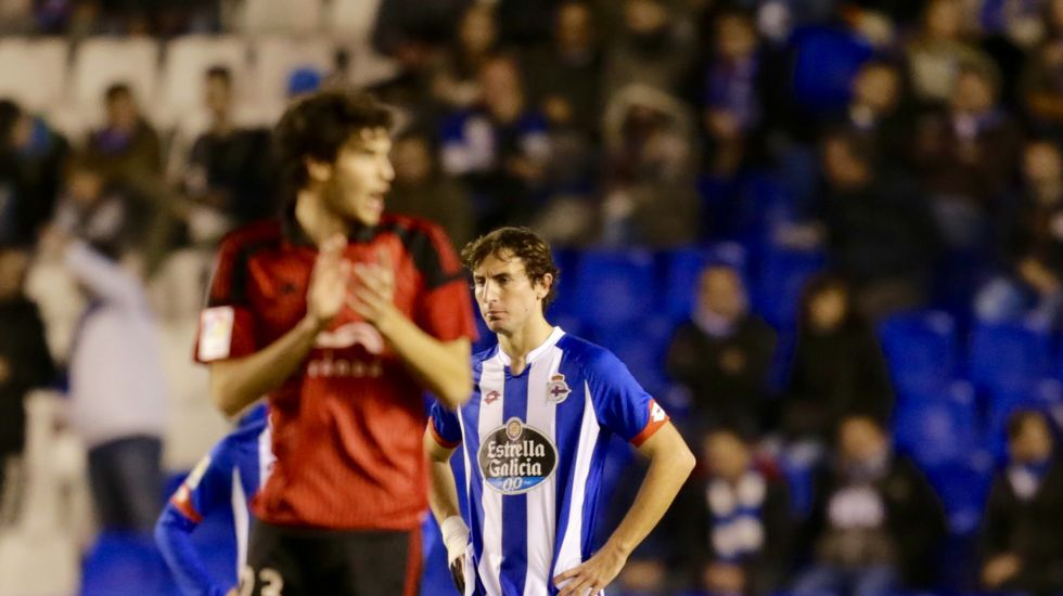 El Dépor-Mirandés, en fotos.Víctor se declaró muy tranquilo y confiado con las sensaciones que transmite su equipo.