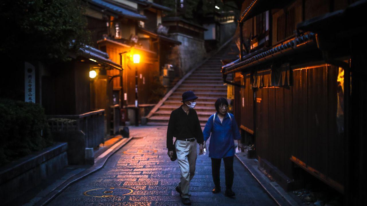 El centro de Japón se ha quedado desierto de turistas. Los cálculos apuntan a un descenso de un 93 % en el número de visitantes