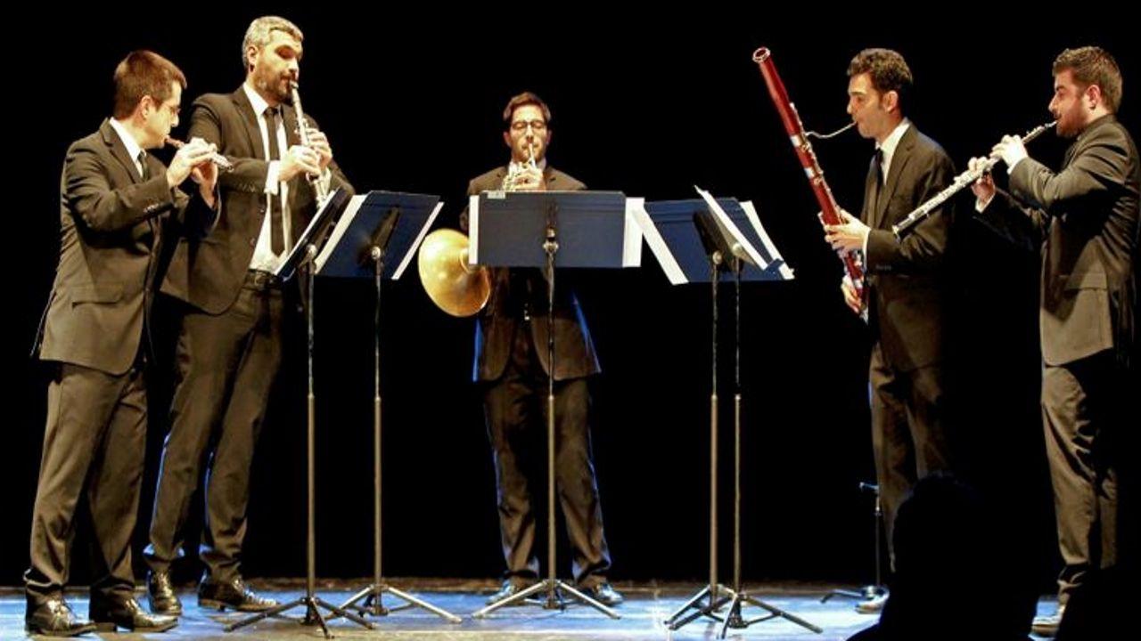 El Quinteto Zoar está presentando el disco en distintas ciudades gallegas