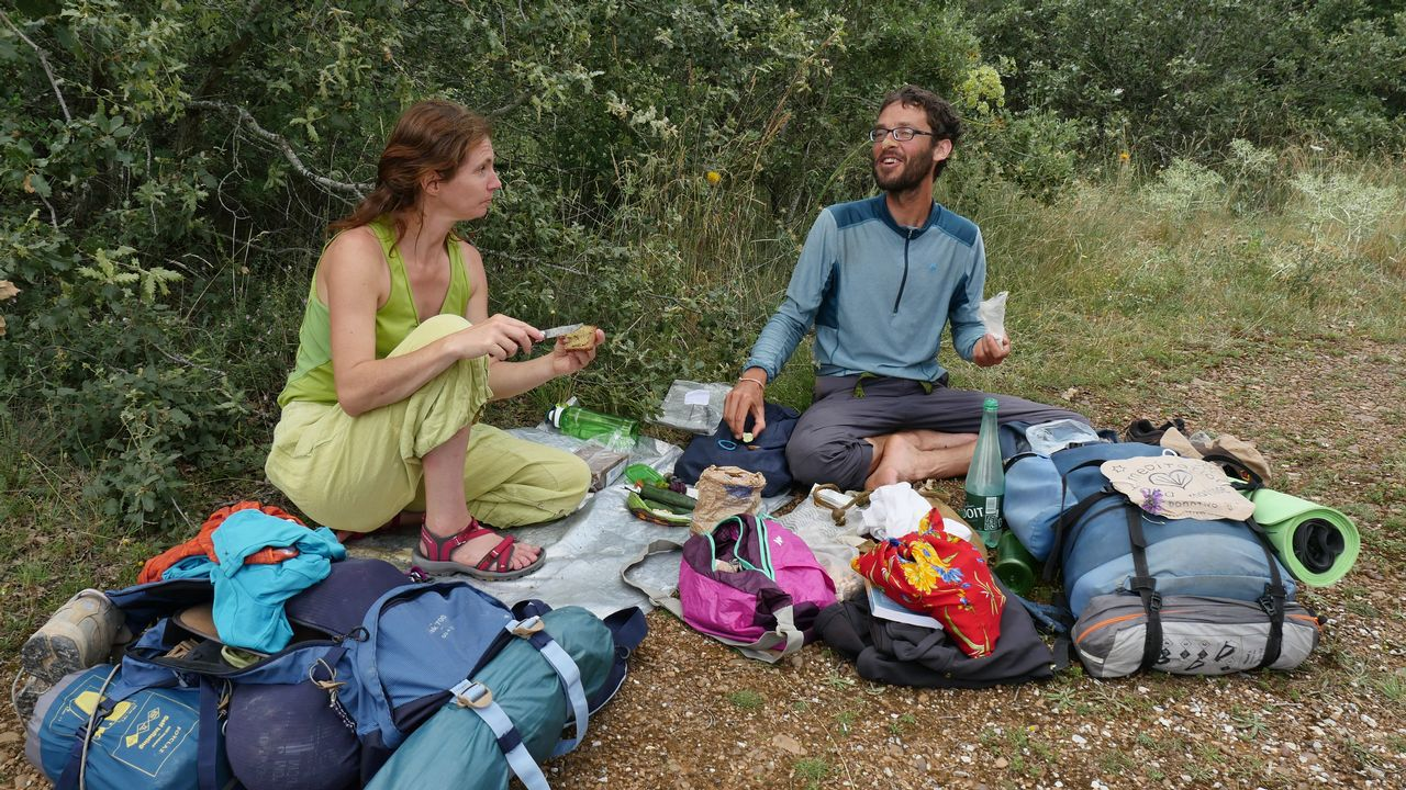 Cristelle e Ivan salieron de Foix, Andorra, hace dos meses