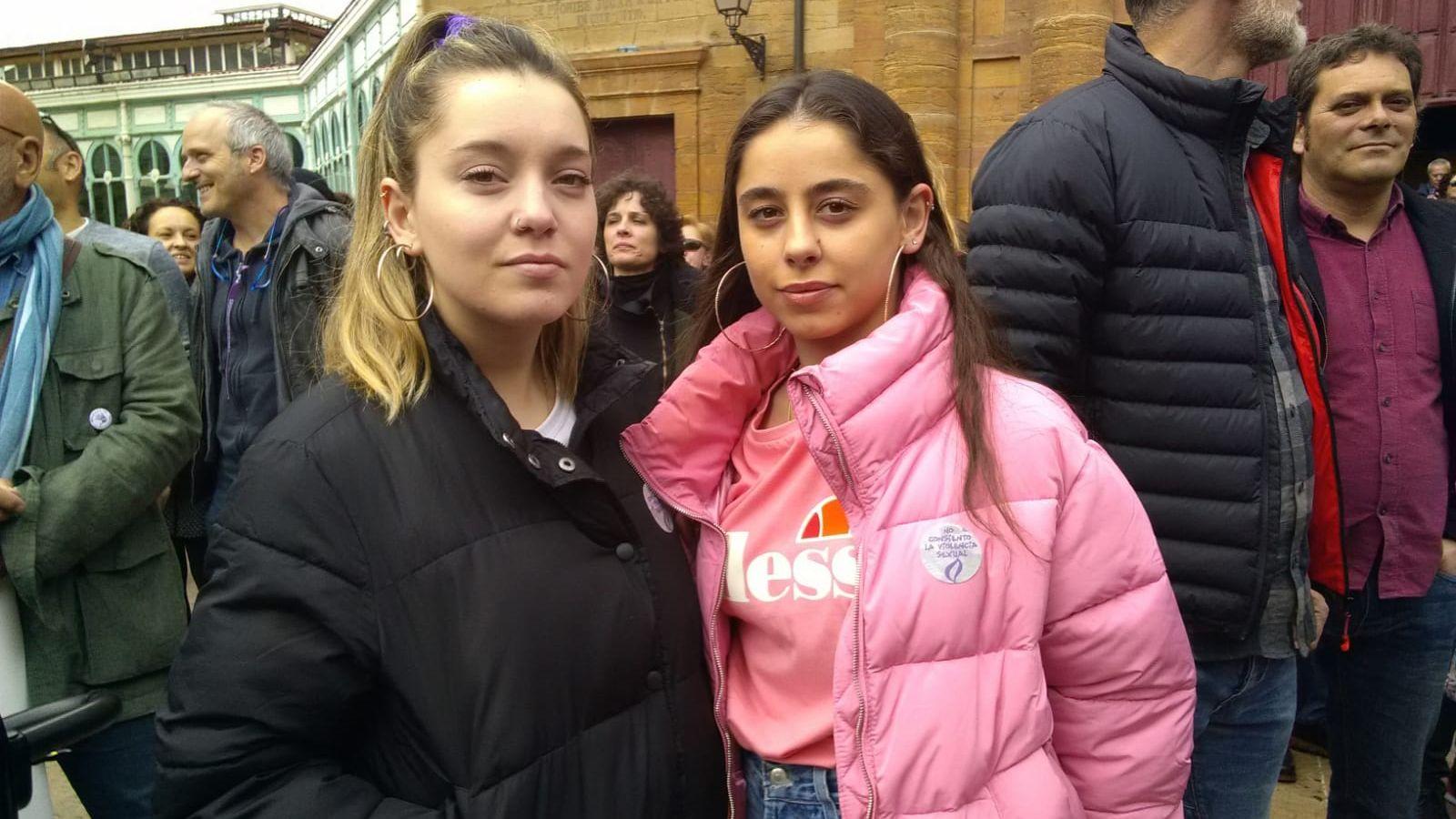 Verónica Martínez y Covadonga Prieto