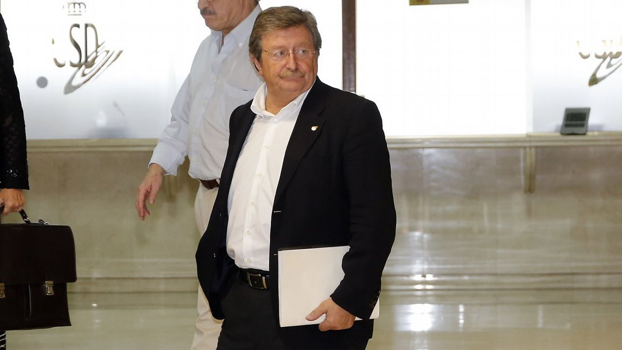 José Luis Larrea, presidente de la RFEF, habla para La Voz