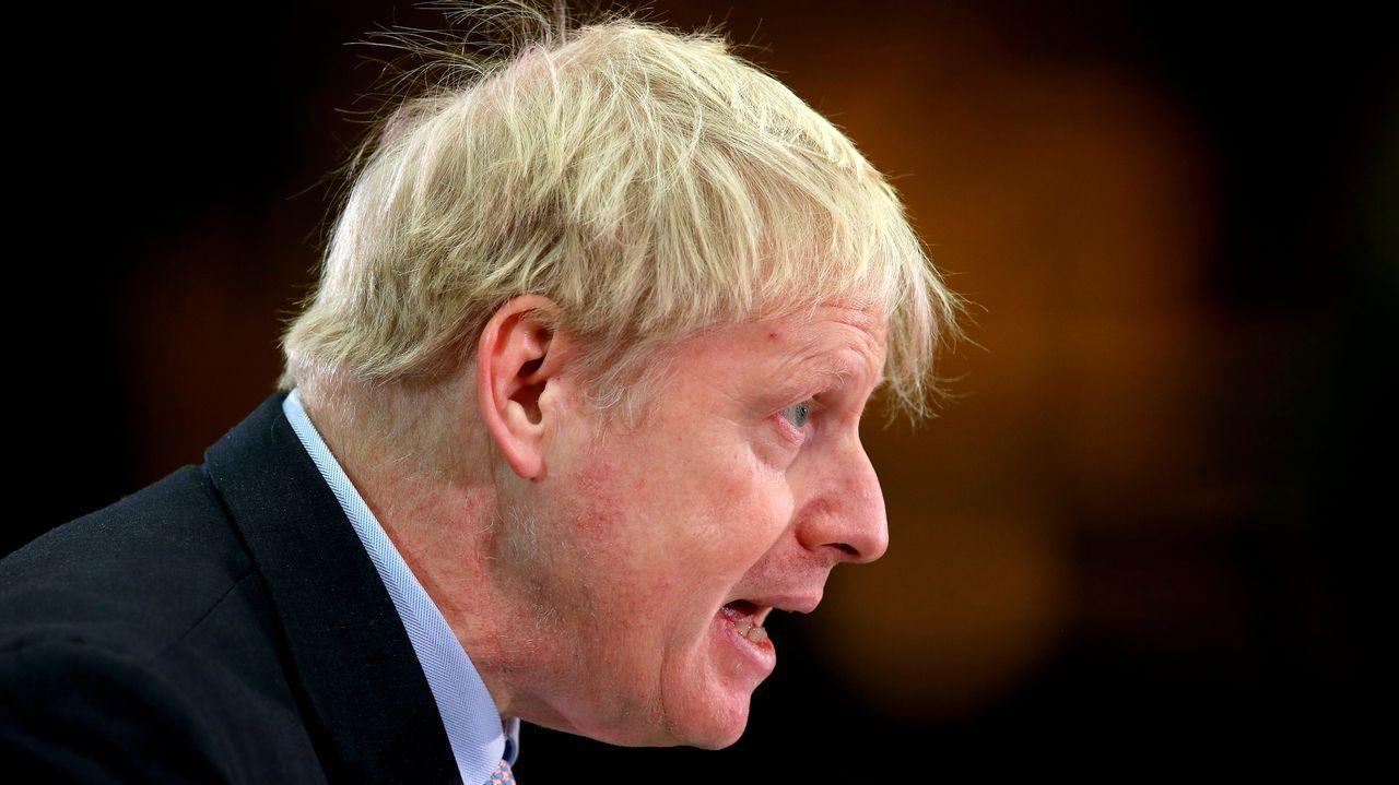 Boris Johnson, exalcalde de Londres y exministro de Asuntos Exteriores