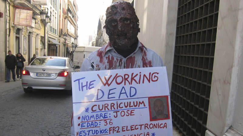 Un zombi en busca de trabajo