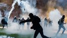 Batalla campal en Bruselas